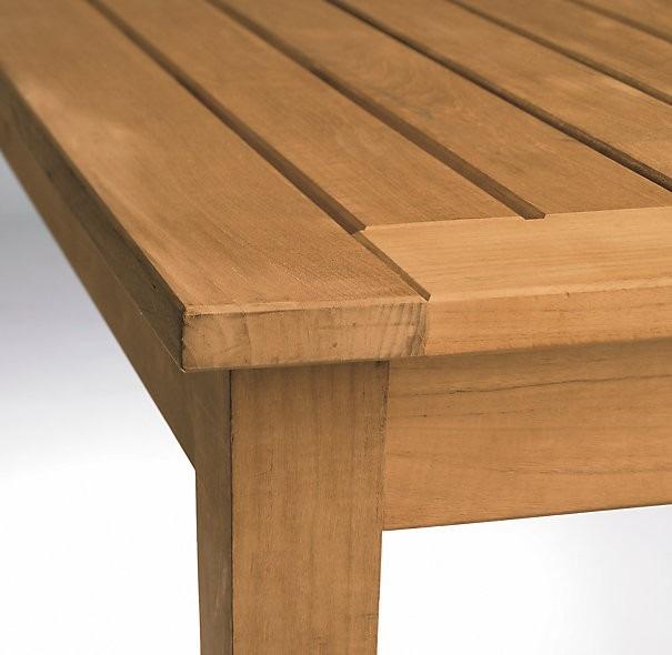 Mesa centro sala terraza o exterior madera teka 12 450 for Terraza madera exterior
