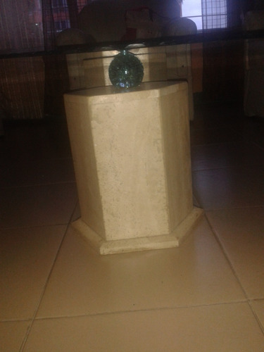 mesa centro vidrio