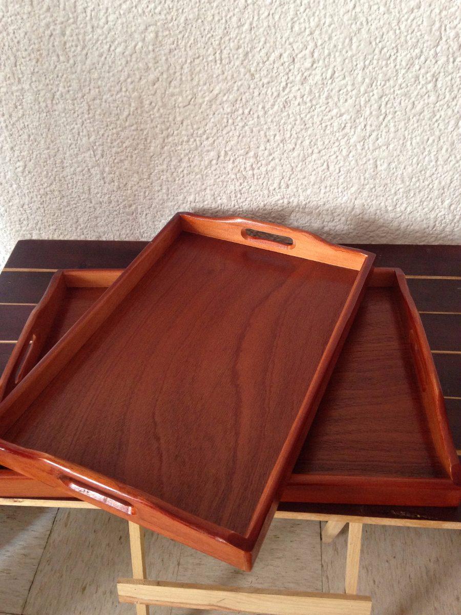 Mesa charola de madera para comer sof cama dos - Mesa para comer en la cama ...