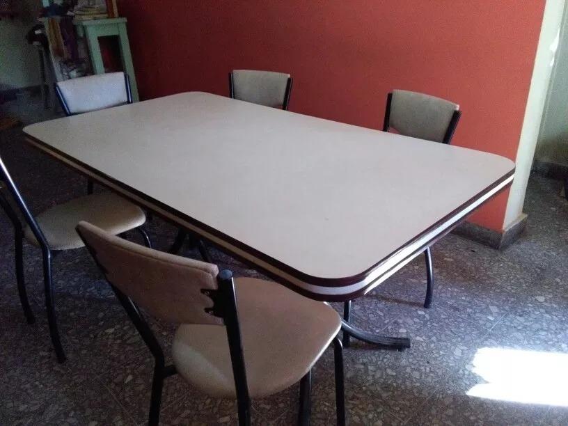 Mesa Cocina Comedor Formica 1,70 X 0,90 + 4 Sillas Oferta ...