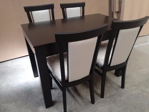mesa cocina comedor laqueada madera paraiso  120 x 70  new