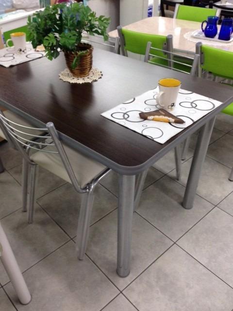 Mesa Cocina Comedor Unican Roma 140x80 (no Incluye Sillas) - $ 2.090 ...