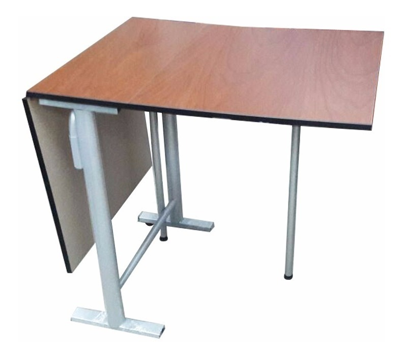 Mesa Cocina Plegable Metal Franch 120x60 Tm-280