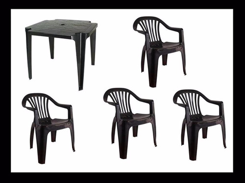 mesa com cadeiras