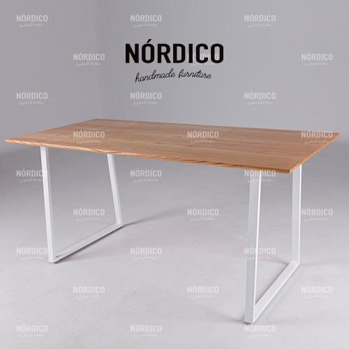 Mesa Comedor 140.Mesa Comedor 140 180 Extensible Escandinava Nordica Madera
