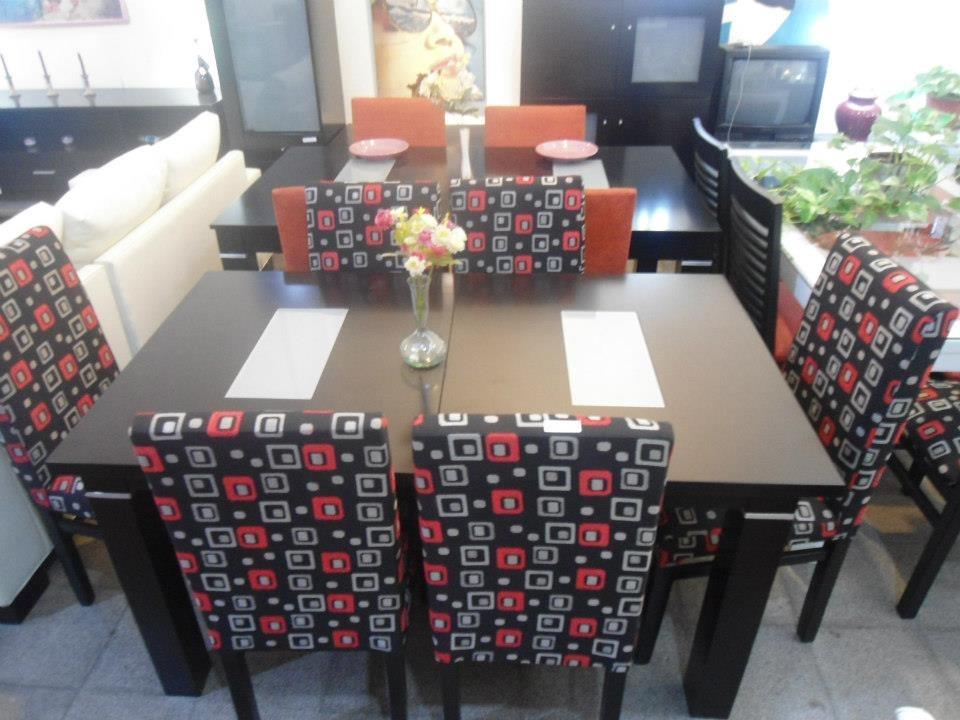 Mesa Comedor 160 Lustre Wengue Duco Sin Sillas. - $ 4.090,00 en ...