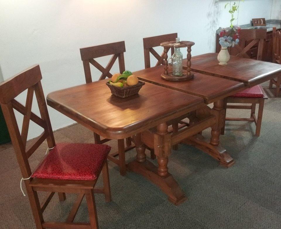 Mesa Comedor 1.60 Ovalada Moderna - $ 8.830,00 en Mercado Libre