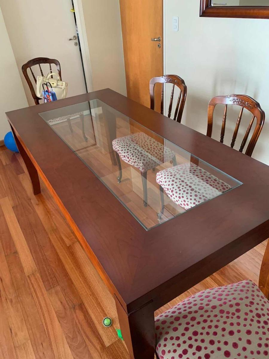 Mesa Comedor 1,90 X 90 Madera Cerezo. Zubaran - $ 25.000,00 en ...