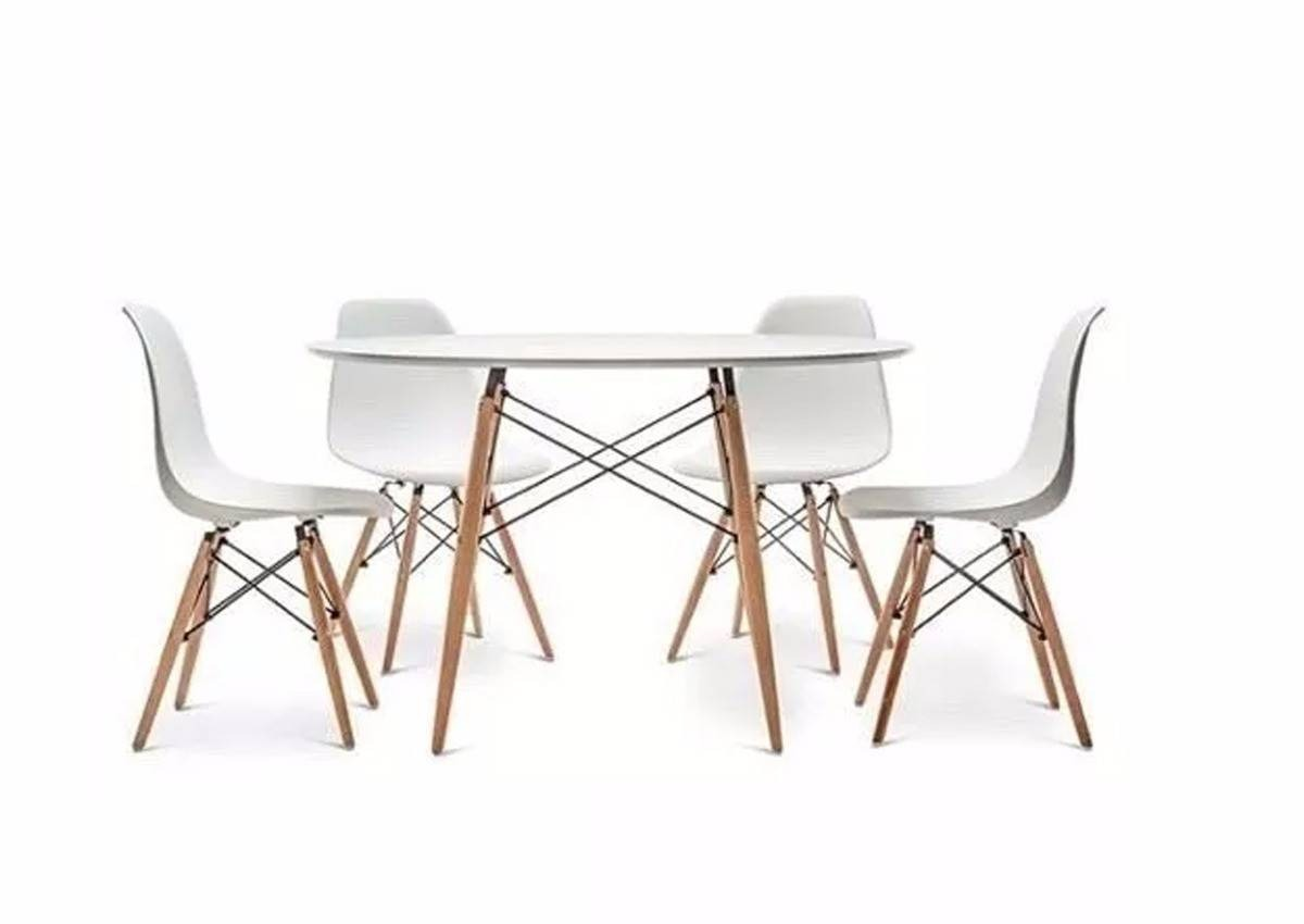 81dde664bdb mesa comedor 4 sillas comedor cocina madera eames 60cm. Cargando zoom.