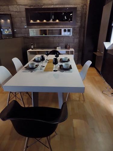 mesa comedor 6 personas minimalista