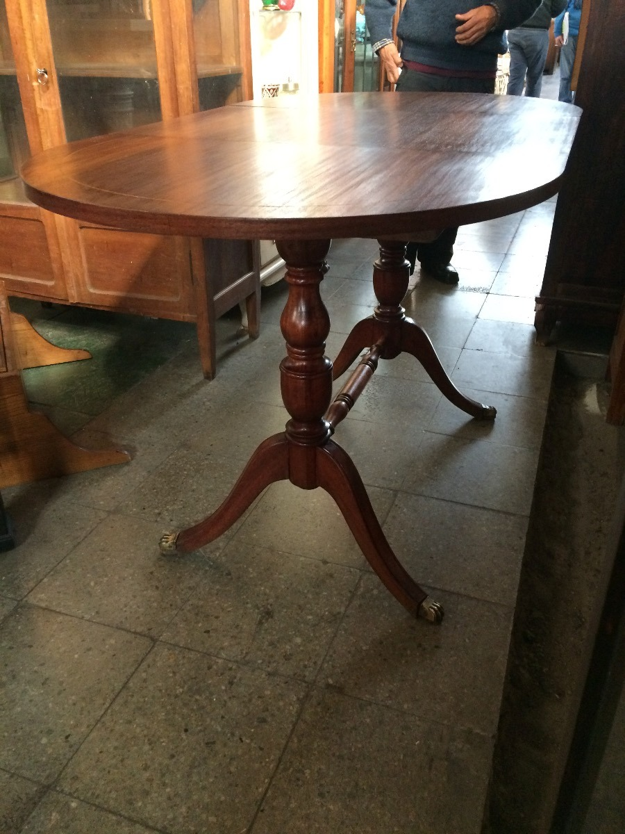 Mesa Comedor Abatible Antigua Original - $ 270.000 en Mercado Libre