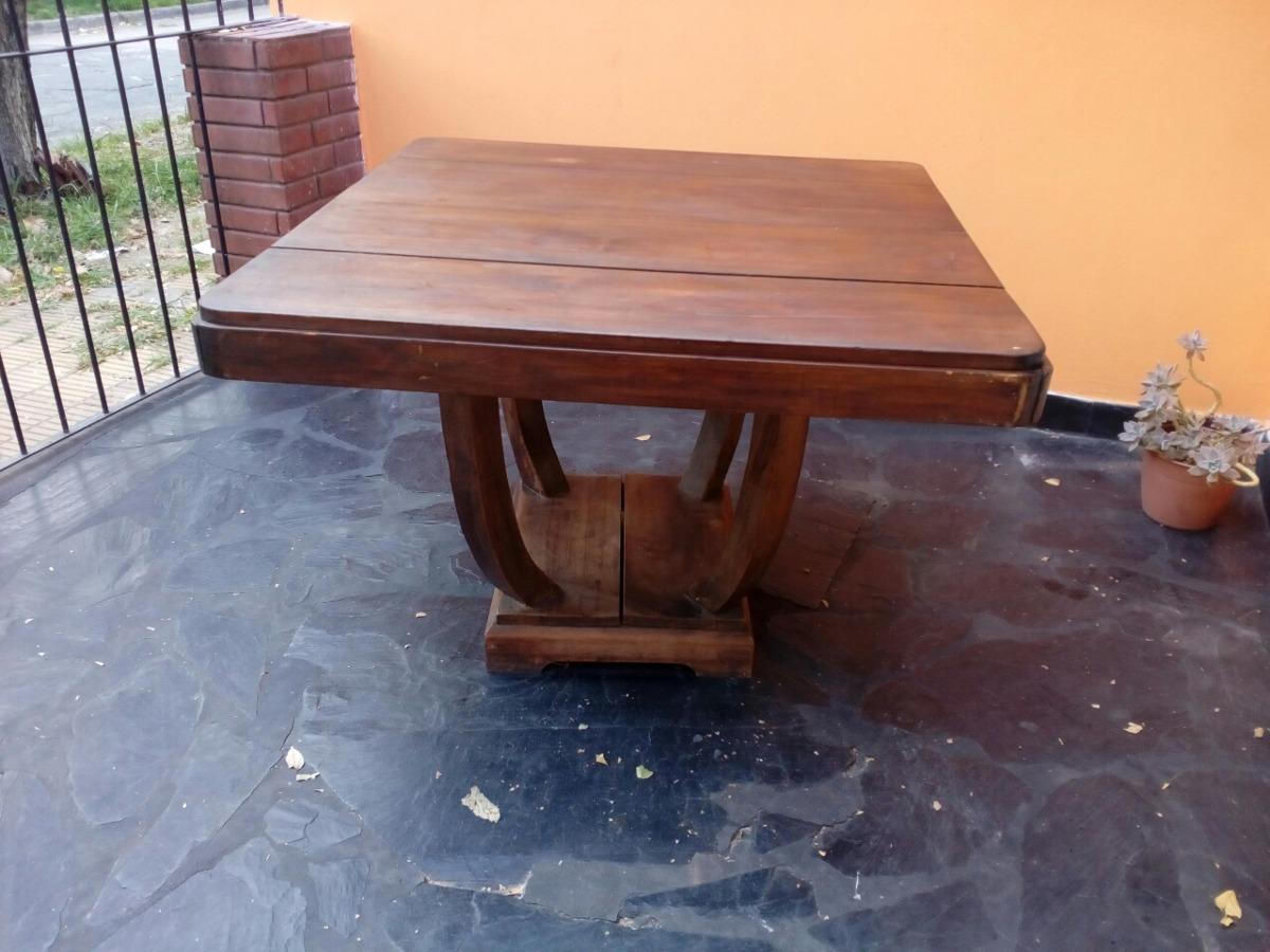 Mesa Comedor Art Decó, Buen Estado. Oferta - $ 1.300,00 en Mercado Libre