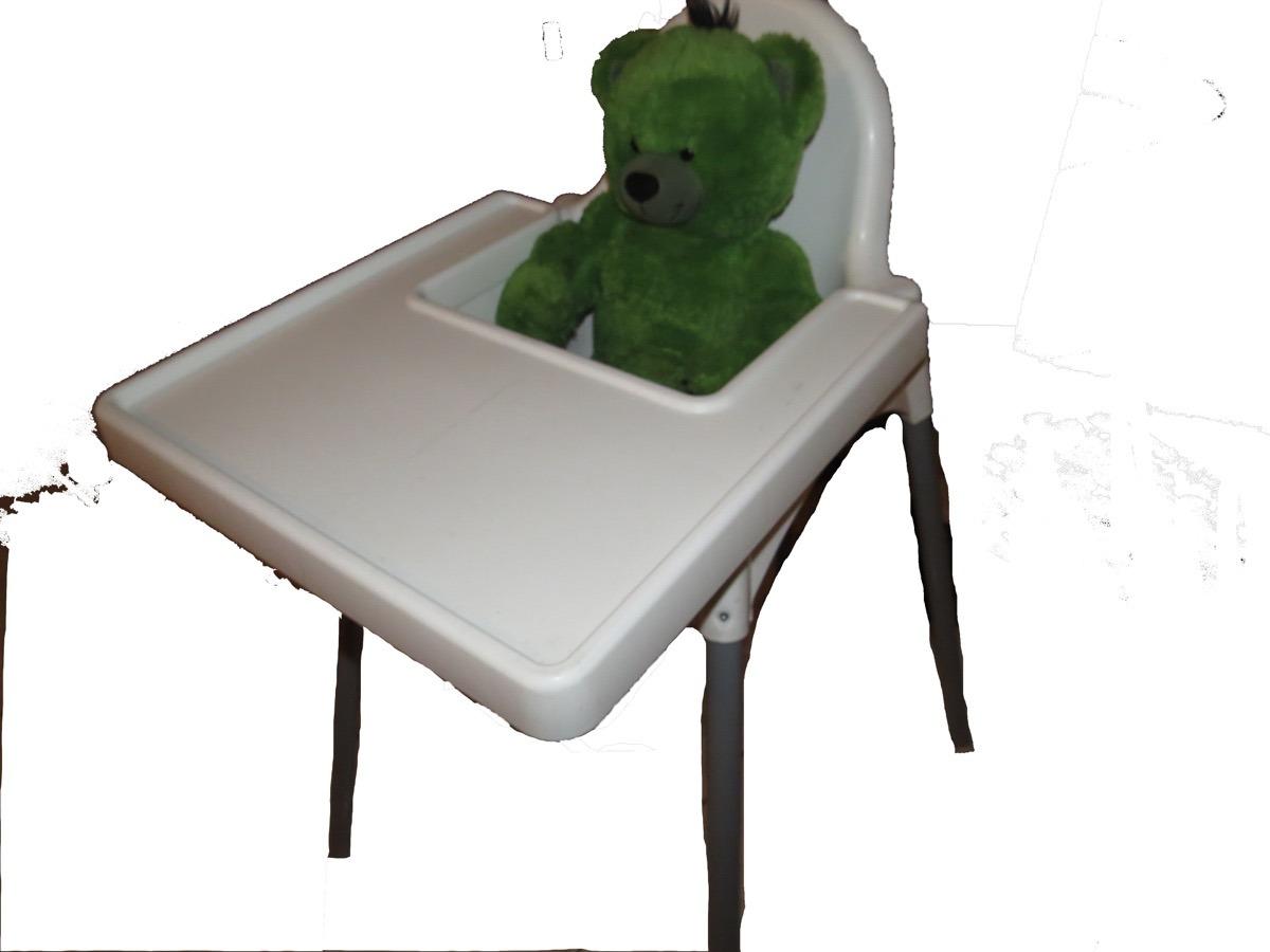 Mesa Comedor Bebe Ikea Original (poco Uso Casi Nueva) - $ 100.000