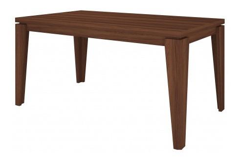 mesa comedor bela color nogal