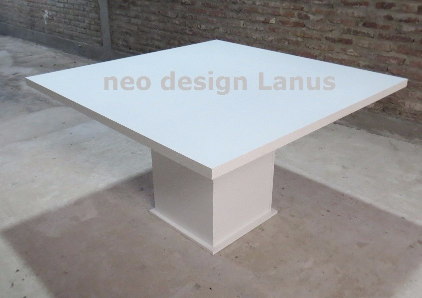 Mesa Comedor/ Cocina Minimalista- 1,40 X 1.40- Fabrica Lanus ...