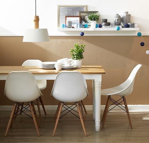 mesa comedor con sillas country shabby