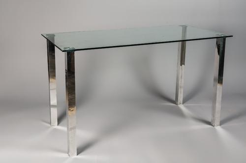 mesa comedor de vidrio! diseño moderno y minimalista.
