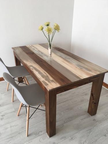 mesa comedor decapada