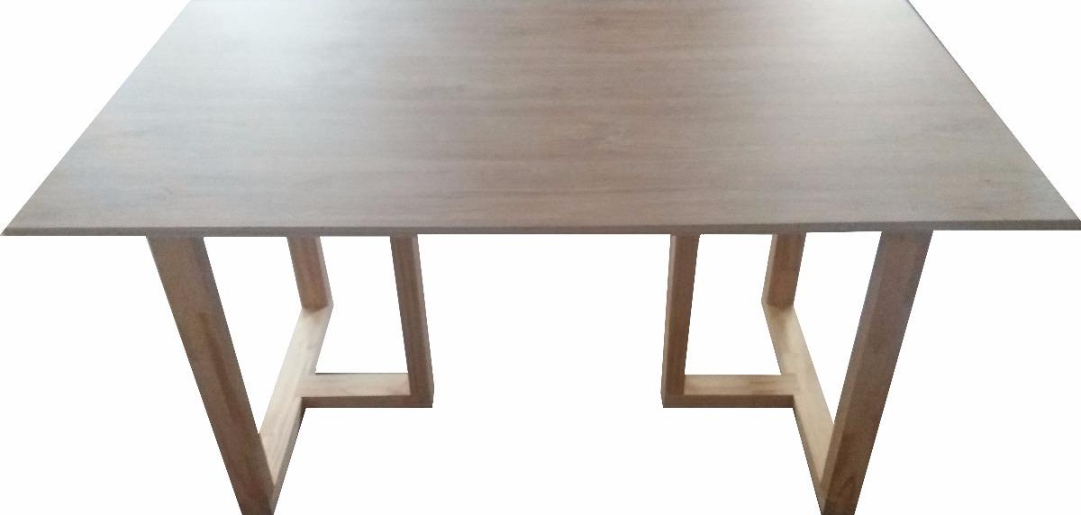 Mesa Comedor Diseño 150cm X 85cm X 77cm Alto - $ 4.500,00 en Mercado ...