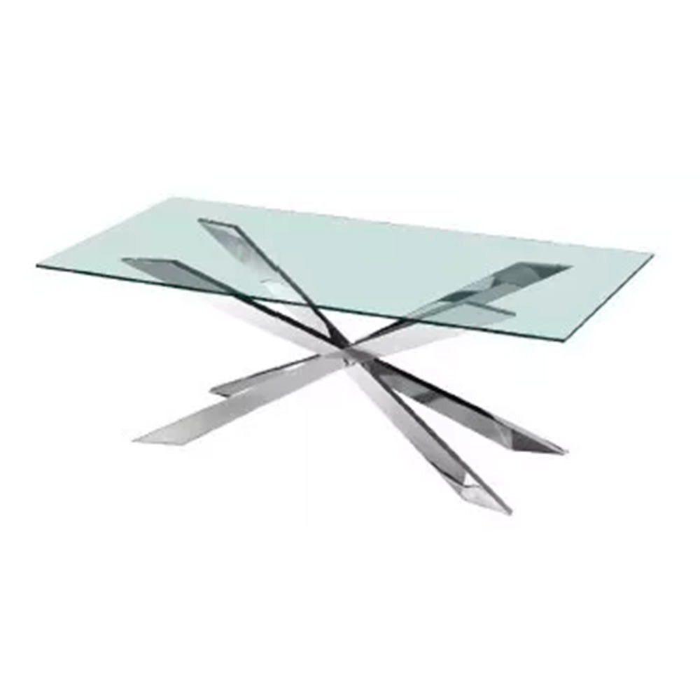 Mesas De Comedor En Acero Inoxidable Diseño Italiano - Hogar ...