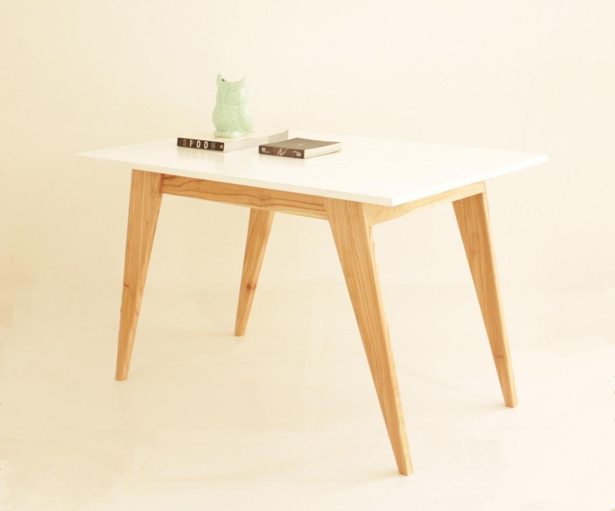 Mesa Comedor Diseño Escandinavo Madera Paraiso - $ 12.450,00 en ...