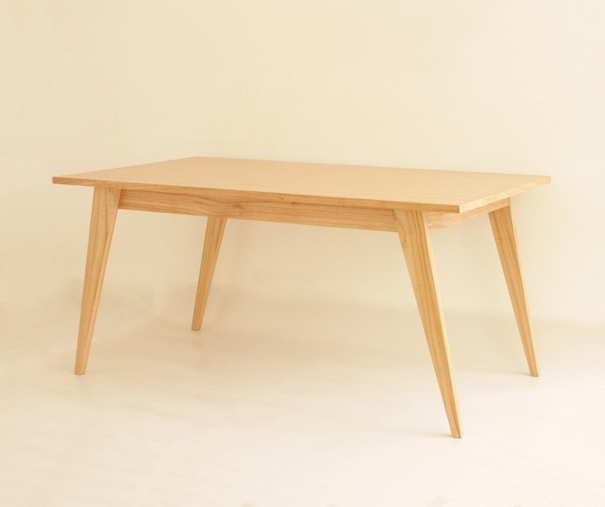 Mesa Comedor Diseño Escandinavo Madera Paraiso - $ 13.150,00 en ...