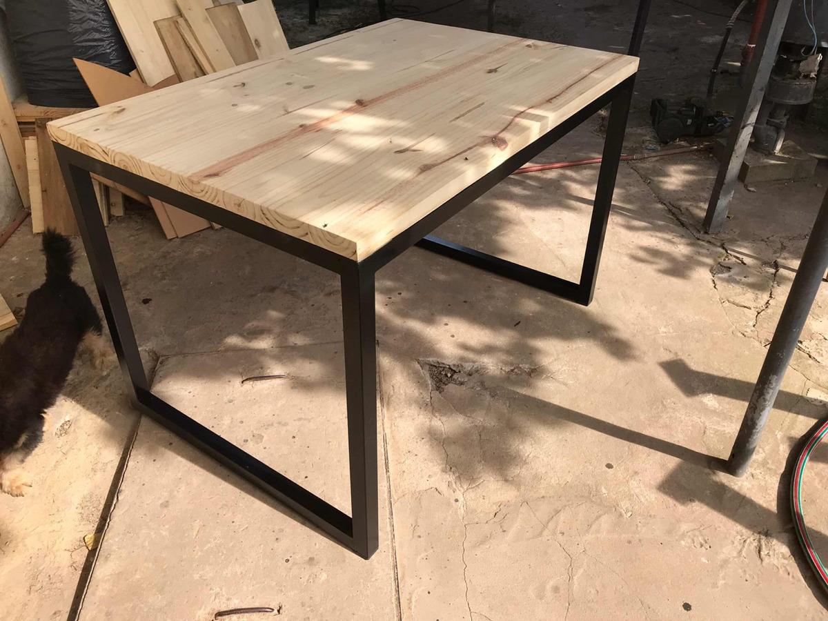 Mesa Comedor Diseño Industrial - $ 6.800,00 en Mercado Libre