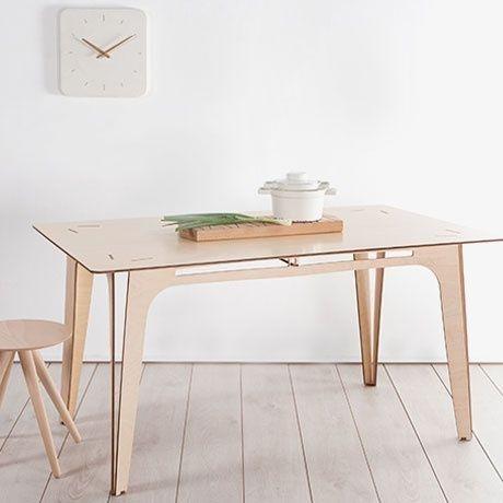 Mesa comedor dise o minimalista 3 en mercado libre - Mesa comedor minimalista ...