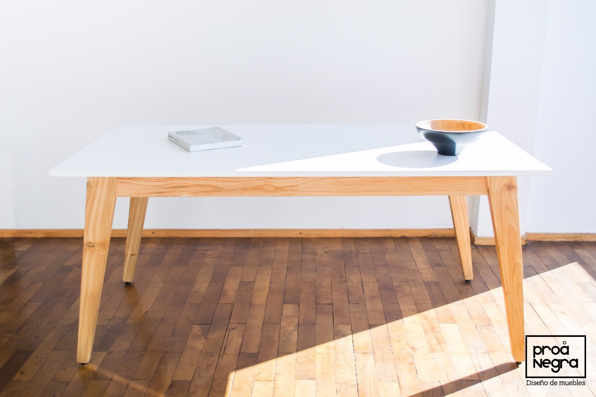 Mesa Comedor Diseño Moderno Vintage Escandinavo 1.60/1.80x90 ...