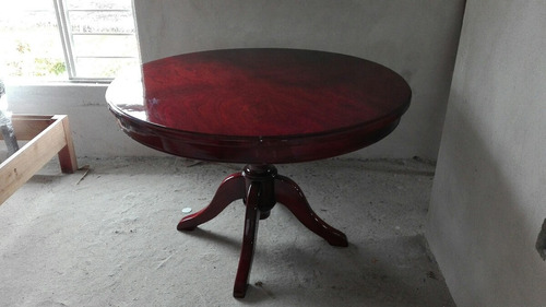 mesa comedor en madera de cedro