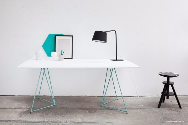 Mesa comedor escritorio moderno diseño minimalista mobler ...