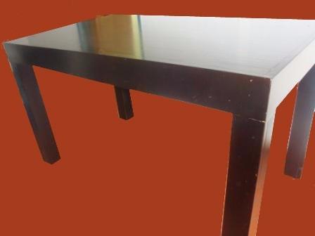 mesa comedor excelente terminacion laqueada en poliuretano