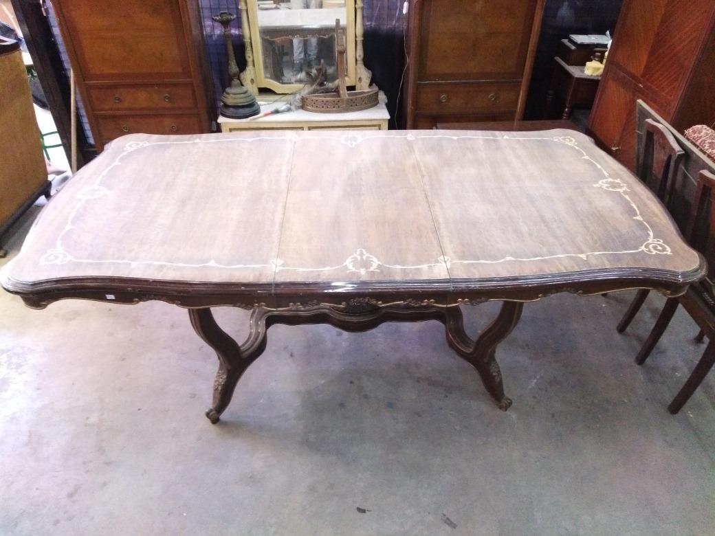 Mesa Comedor Frances Unica Original - $ 46.000,00