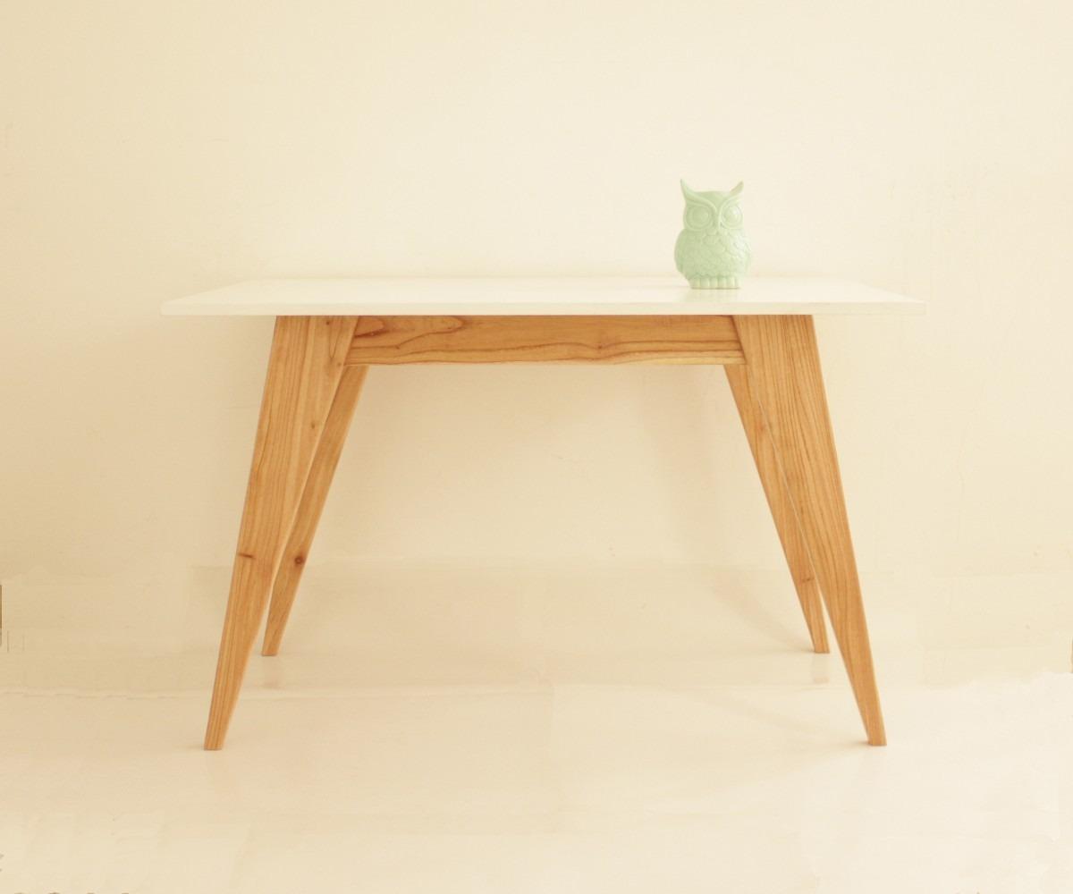 mesa comedor diseño escandinavo madera paraiso - $ 10.250,00 en ... - Muebles Diseno Nordico