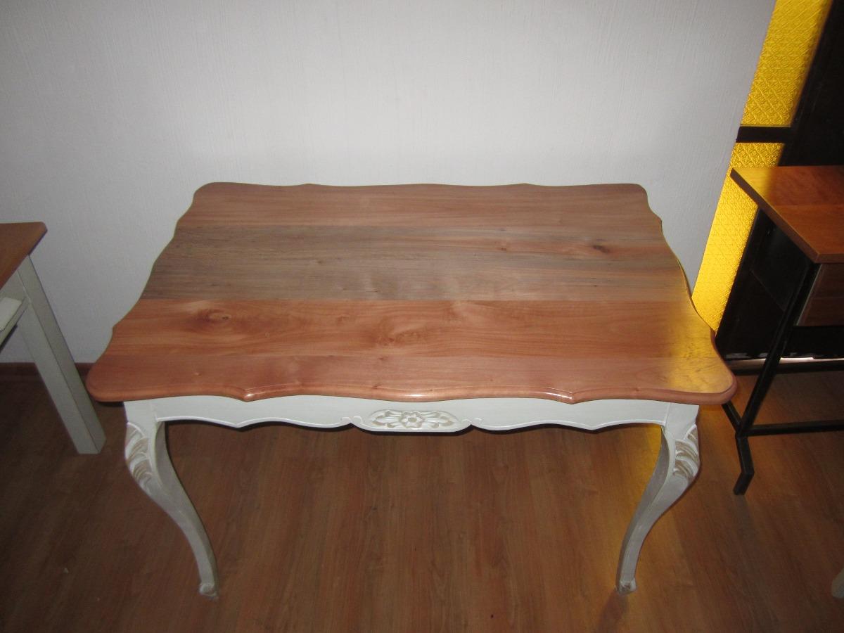 Mesa comedor normando cubierta madera en - Mesa comedor madera ...