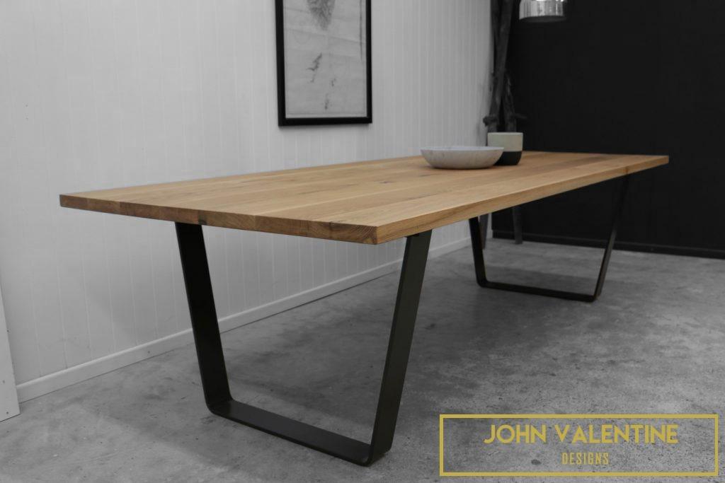 Mesa comedor acero madera estilo industrial modelo a en mercado libre - Mesa comedor industrial ...