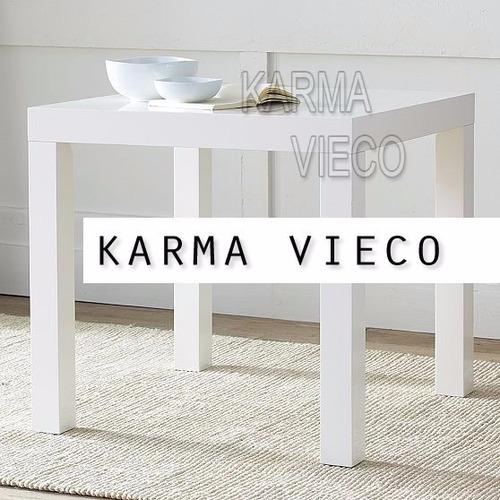 mesa comedor madera cuadrada