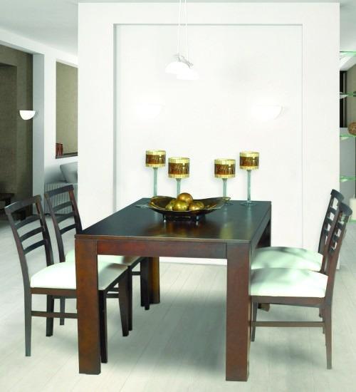 Mesa Comedor Madera Mosconi Smile 120x80cm Con 4 Sillas - $ 8.900,00 ...
