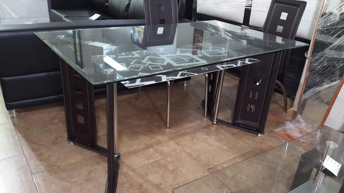 Mesa Comedor Moderna Diseño Minimalista De 6 Puestos - Bs. 1.320.000 ...