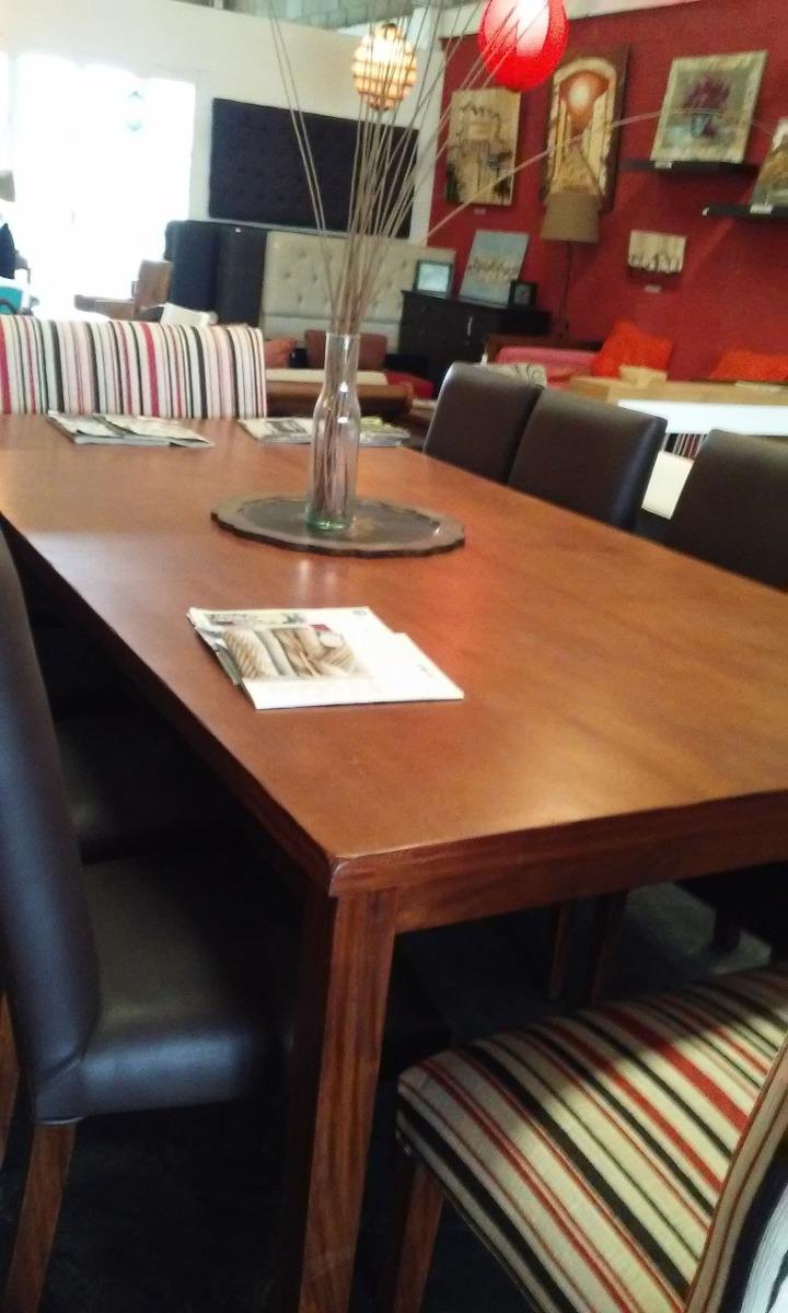 Mesa De Comedor En Madera Incienso -la Boticaria Muebles- - $ 16.800 ...