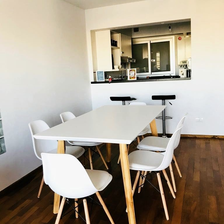Mesa Comedor Nordica Laqueada Paraíso 1,40 X 0,80 Oferta!! - $ 6.500 ...