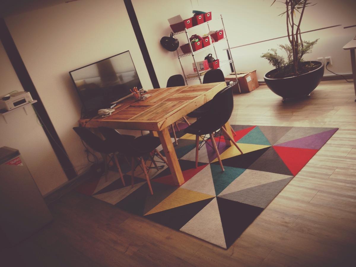 Mesa comedor oficina madera reciclada 4 en for Precios de mesas de comedor de madera
