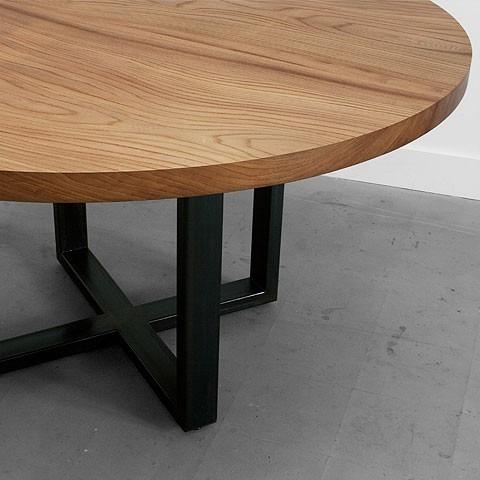 mesa comedor oficina redonda diseno moderna madera mobler