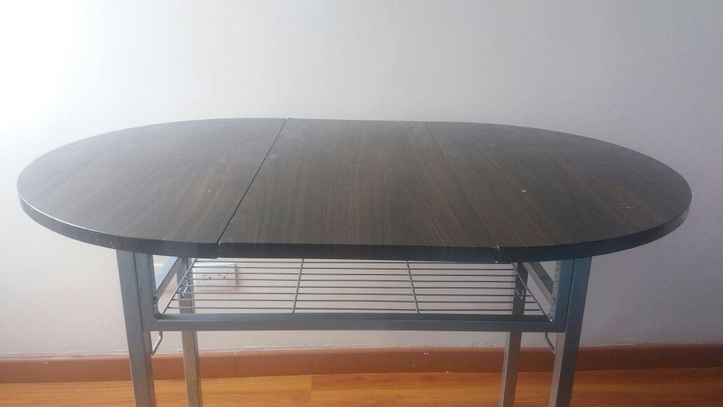 *mesa Comedor Plegable Para Espacios Acogedores* - $ 115.000