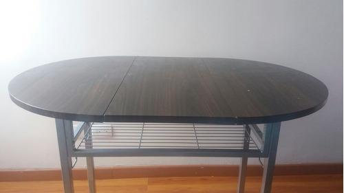 *mesa comedor plegable para espacios acogedores*