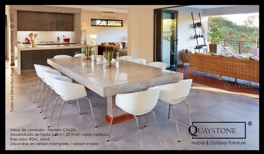 Mesa Comedor Quaystone - Diseño Silestone Marmol - Fabrica - $ 5.200 ...