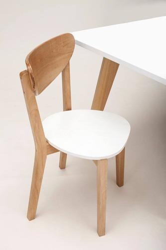 mesa comedor rectangular paraiso nordica