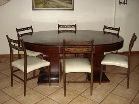 Mesa Ovalada - Sala de Estar y Comedor en Mercado Libre Argentina