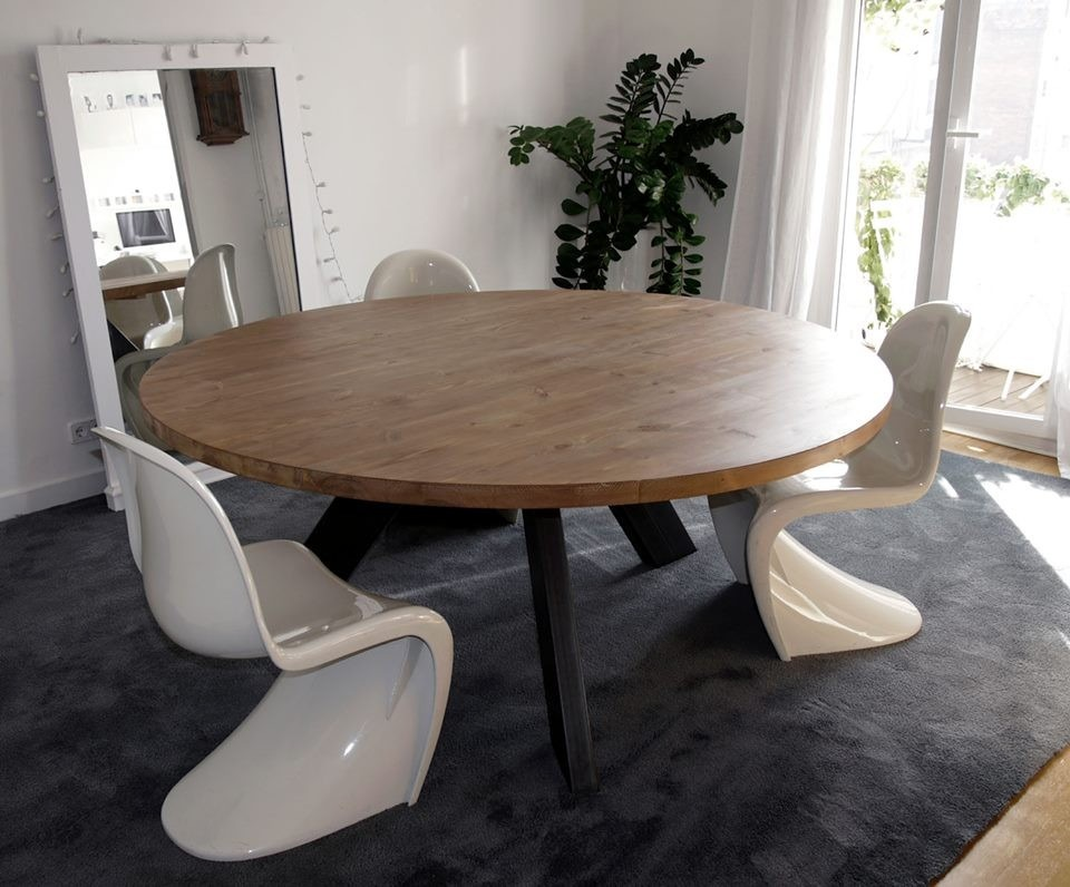 Beautiful Mesa Comedor Redonda Madera Gallery - Casas: Ideas ...