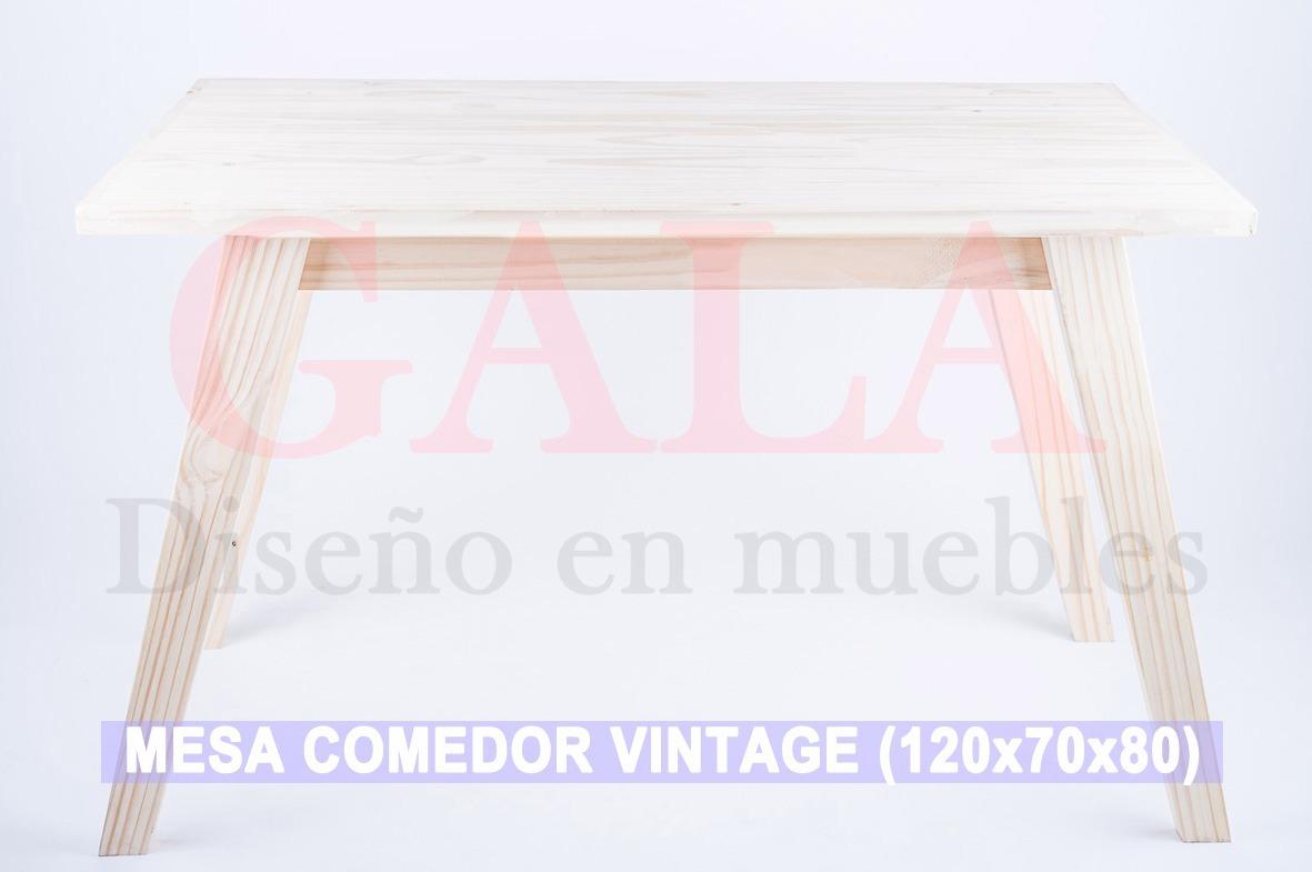 Mesa Comedor Retro Vintage 120x70x80 - Precios De Locos - $ 1.690,00 ...
